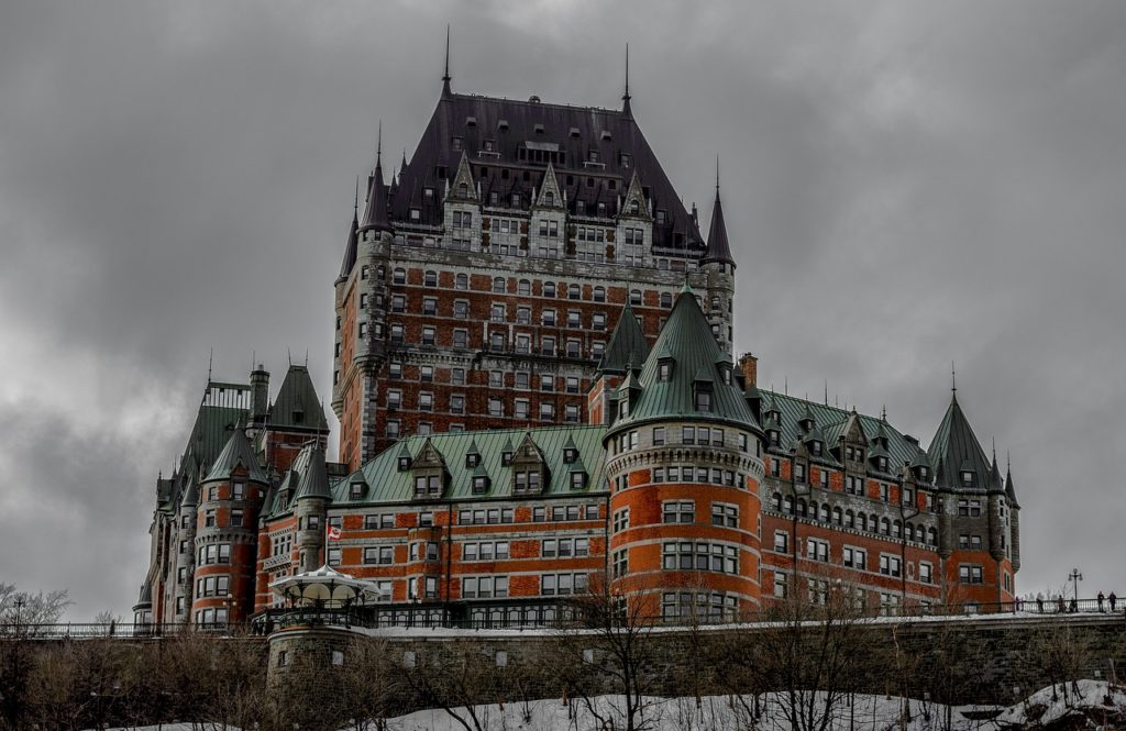 Quebec - Castillo Frontenac